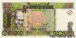 500 Francs Guinéens GUINÉE  1998 P.36 NEUF