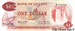 1 Dollar GUYANA  1989 P.21f pr.NEUF