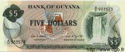 5 Dollars GUYANA  1989 P.22e NEUF