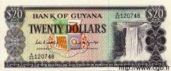 20 Dollars GUYANA  1989 P.24d NEUF