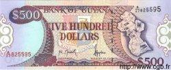 500 Dollars GUYANA  1996 P.32