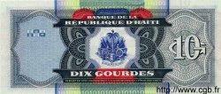 10 Gourdes HAÏTI  2000 P.256var NEUF