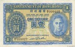 1 Dollar HONG KONG  1940 P.316 SPL