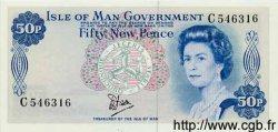 50 Pence ÎLE DE MAN  1979 P.33a NEUF