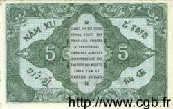 5 Cents INDOCHINE FRANÇAISE  1943 P.088a SPL