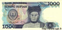 1000 Rupiah INDONÉSIE  1987 P.124 pr.NEUF