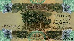 1/4 Dinar IRAK  1979 P.067a NEUF