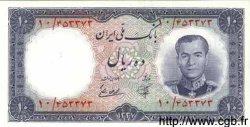 10 Rials IRAN  1958 P.068 NEUF