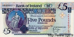 5 Pounds IRLANDE DU NORD  2000 P.074var NEUF