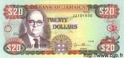 20 Dollars JAMAÏQUE  1995 P.72e NEUF