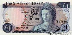 1 Pound JERSEY  1976 P.11a pr.NEUF