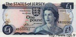 1 Pound JERSEY  1976 P.11b NEUF