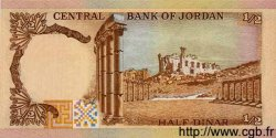 1/2 Dinar JORDANIE  1975 P.17 NEUF