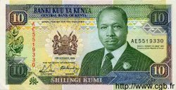 10 Shillings KENYA  1989 P.24a pr.SPL