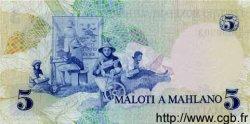 5 Maloti LESOTHO  1979 P.02 NEUF