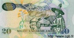 20 Maloti LESOTHO  2001 P.16c NEUF