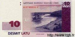 10 Latu LETTONIE  2000 P.50 pr.NEUF