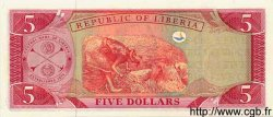5 Dollars LIBERIA  1999 P.21 NEUF