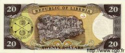 20 Dollars LIBERIA  1999 P.23 NEUF
