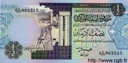 1/2 Dinar LIBYE  1991 P.58b pr.NEUF