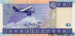10 Litu LITUANIE  2001 P.59 NEUF