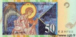 50 Denari MACÉDOINE  2001 P.15a NEUF