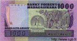 1000 Francs - 200 Ariary MADAGASCAR  1983 P.68 NEUF