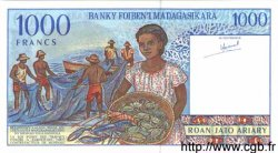 1000 Francs - 200 Ariary MADAGASCAR  1994 P.76 NEUF