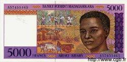 5000 Francs / 1000 Ariary MADAGASCAR  1995 P.78 NEUF