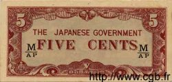 5 Cents MALAISIE  1942 P.M02b pr.NEUF