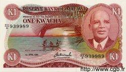1 Kwacha MALAWI  1984 P.14g