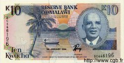 10 Kwacha MALAWI  1994 P.25c NEUF