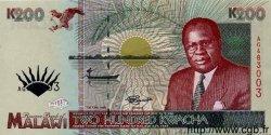 200 Kwacha MALAWI  1995 P.35 NEUF