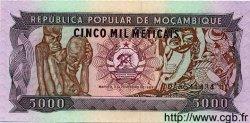 5000 Meticais MOZAMBIQUE  1989 P.133 NEUF