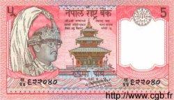5 Rupees NÉPAL  1987 P.30a NEUF