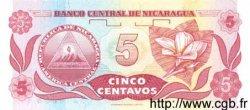 5 Centavos De Cordoba NICARAGUA  1991 P.168 NEUF