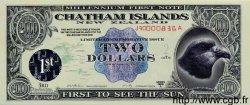 2 Dollars ILES CHATHAM  2000 P.-- NEUF