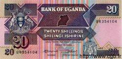 20 Shillings OUGANDA  1988 P.29b NEUF