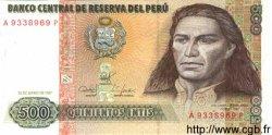 500 Intis PÉROU  1987 P.134b NEUF