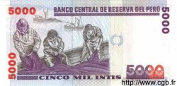 5000 Intis PÉROU  1988 P.137 NEUF