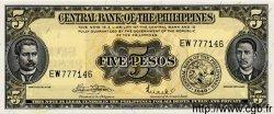 5 Pesos PHILIPPINES  1949 P.135f NEUF