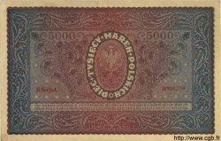 5000 Marek POLOGNE  1920 P.031 TTB+ à SUP