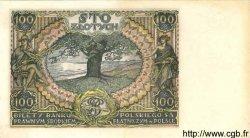 100 Zlotych POLOGNE  1934 P.075 SPL