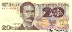 20 Zlotych POLOGNE  1982 P.149a NEUF