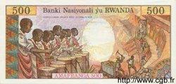 500 Francs RWANDA  1978 P.13a NEUF