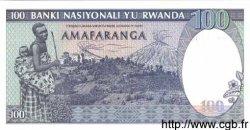100 Francs RWANDA  1989 P.19 NEUF