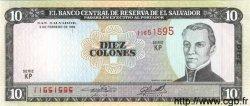 10 Colones SALVADOR  1996 P.144a NEUF