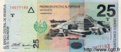 25 Colones SALVADOR  1998 P.149b NEUF