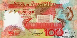 100 Rupees SEYCHELLES  1989 P.35 NEUF