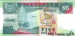 5 Dollars SINGAPOUR  1997 P.35 NEUF